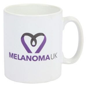 Melanoma UK Promotional Mug