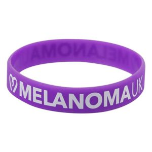 Melanoma UK Wristband