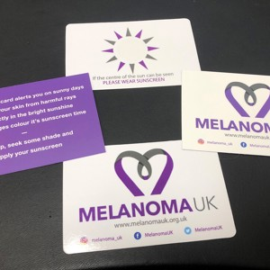 Melanoma UK Sun Safety Cards