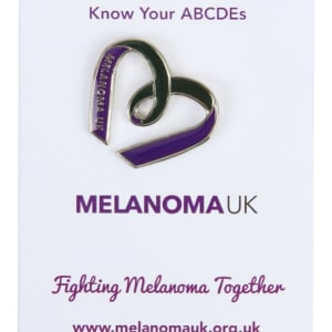 Melanoma UK Lapel Badge